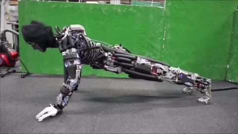 Pushup Robot