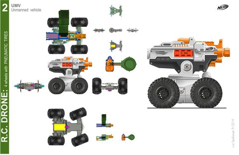 How Nerf's Terrascout Drone Was Made