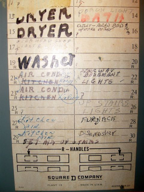 Why you should label your electrical panel right now for Electrical panel tags