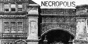 London Necropolis Railroad station