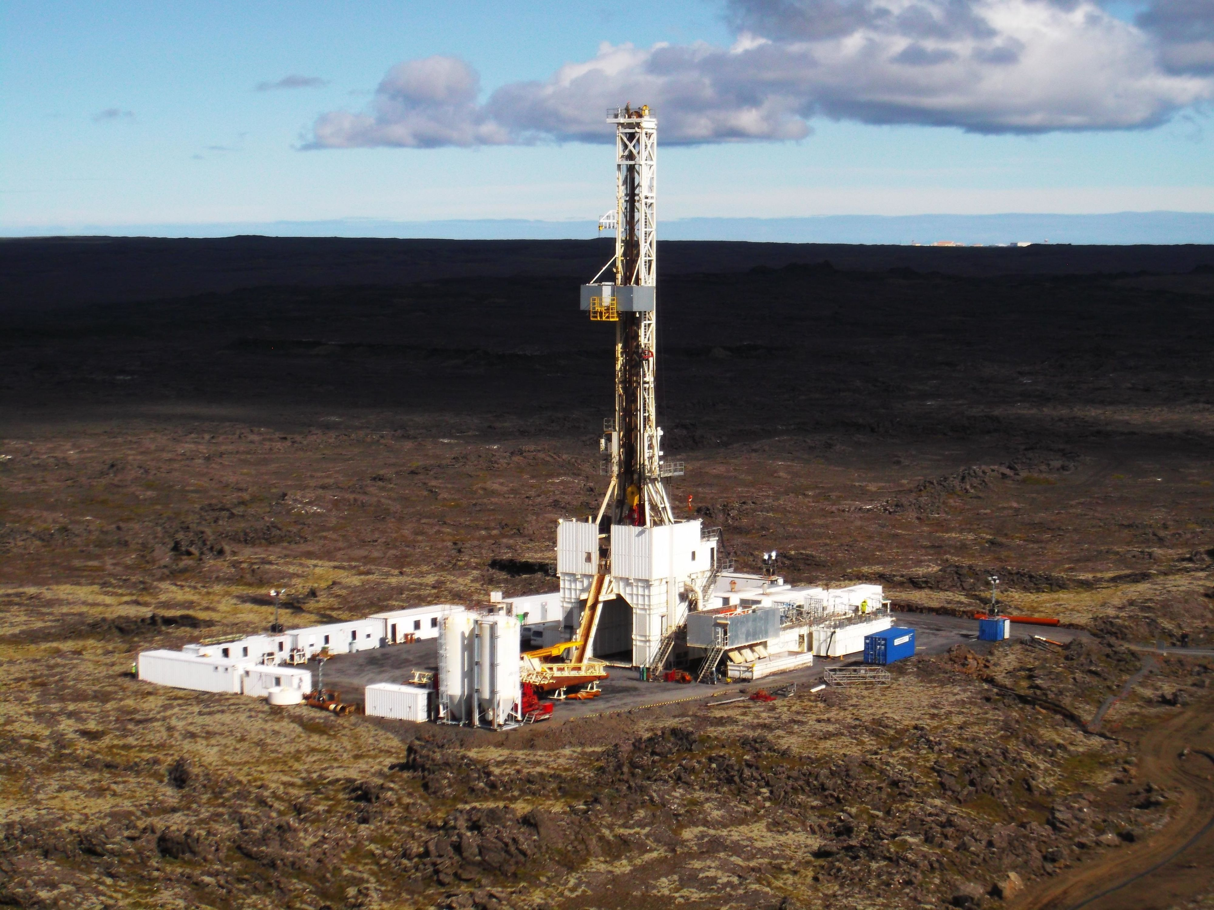 Iceland Is Drilling a 3-Mile Hole to Tap Magma Power