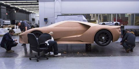 Ford Uses 200,000 Pounds of Clay Every Year