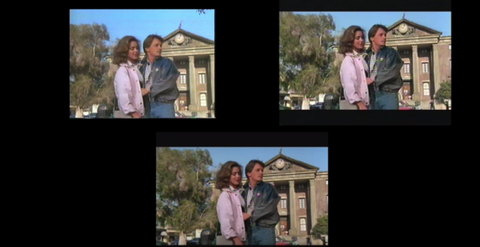 VHS back to the future comparisons