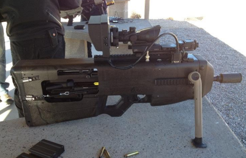 The U S  Army Is Testing Aim-Stabilized Weapons