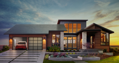 Elon Musk Says His Solar Shingles Will Cost Less than a Normal Roof