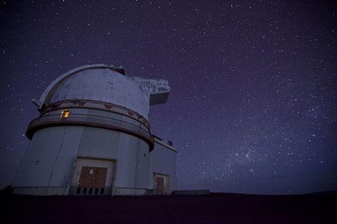 Telescope and Star Field