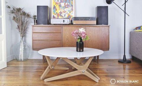 Shape-Shifting Table Moves So Elegantly