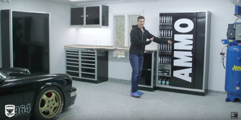 Here's How to Turn Any Old Garage Into the Car Space of Your Dreams