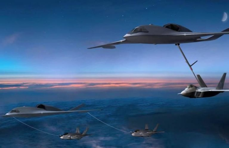 Here's the Wing-Body Tanker That Could Refuel the F-35