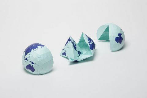 This world map is so accurate it folds into a globe image gumiabroncs Images