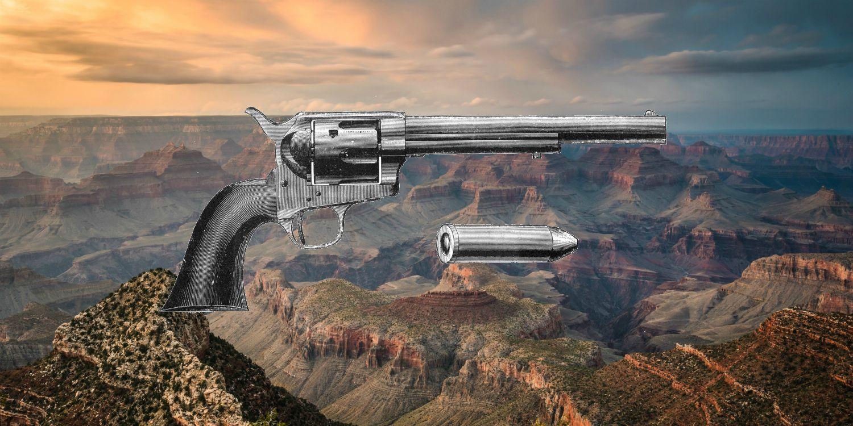 With Pump Action! Brand New Wild West Pop Gun