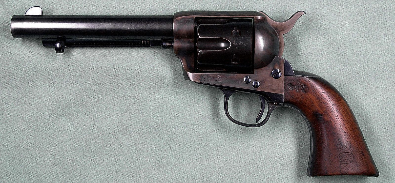 how the colt single action army revolver won the west