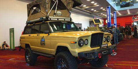 Jeep Wagoneer SEMA