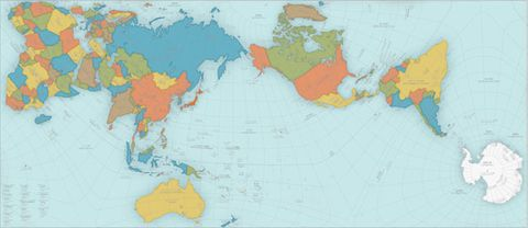 This world map is so accurate it folds into a globe image gumiabroncs Image collections