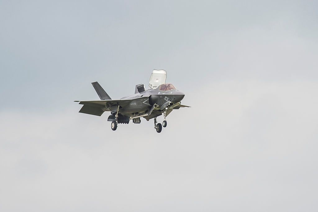Yet Another F-35 Fighter Catches Fire