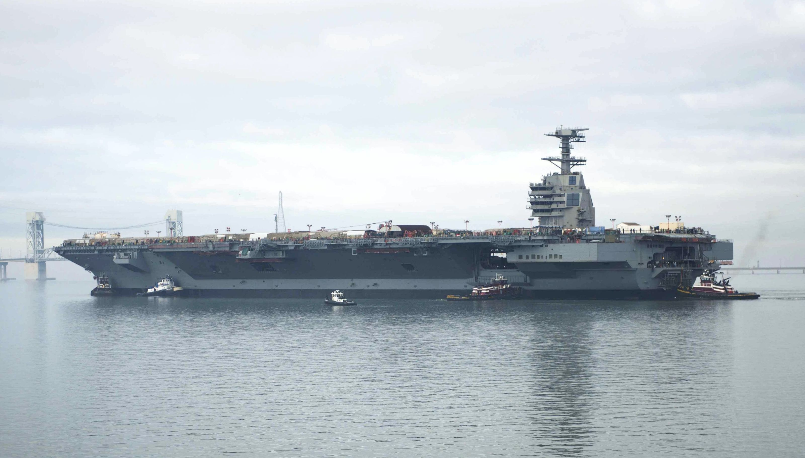 The Navy's $12.9B Next Gen Aircraft Carrier Is Almost Ready