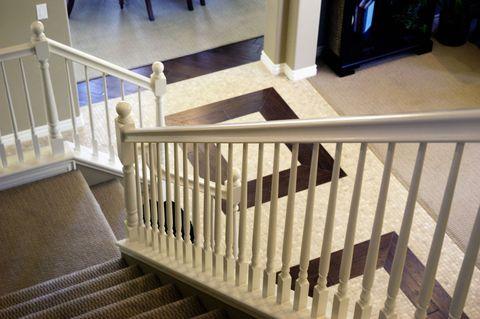 Wood, Stairs, Property, Baluster, Handrail, Real estate, Floor, Line, Wood stain, Hardwood,