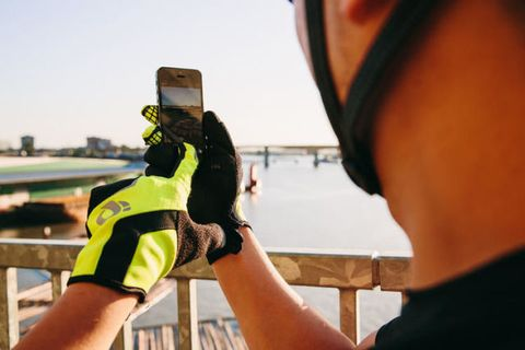 Personal protective equipment, Elbow, Headgear, Wrist, High-visibility clothing, Back, Glove, Safety glove, Guard rail,