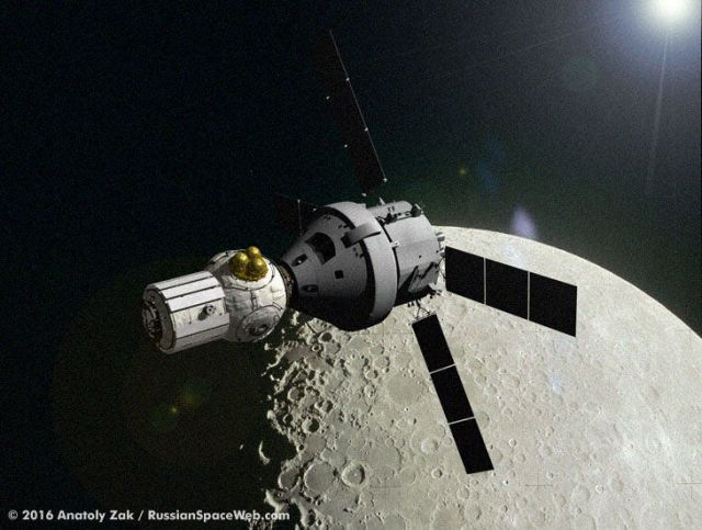 Why NASA May Ferry the First Cosmonaut to the Moon