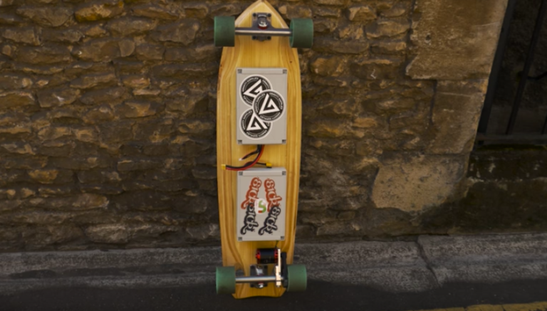 This Electric Skateboard Is Controlled by a Wii Remote