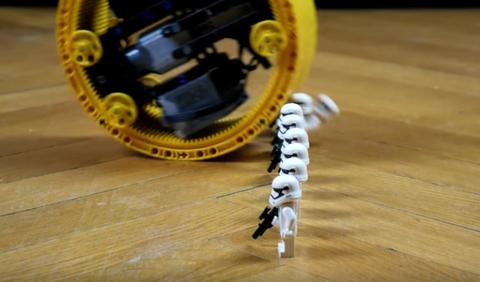 Lego monowheel