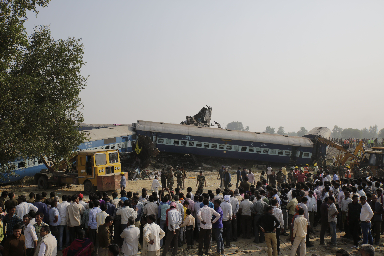 At Least 115 Dead In Indian Train Derailment