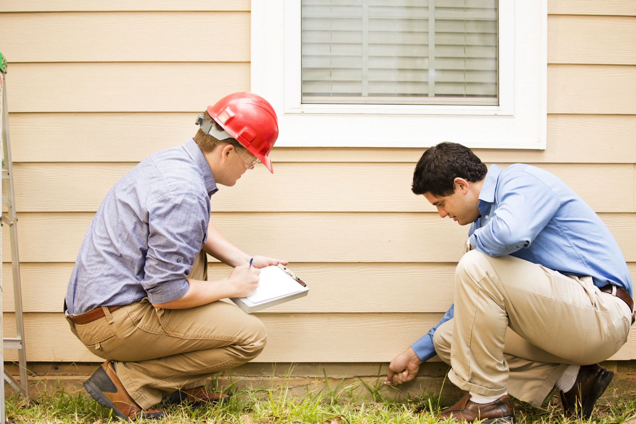 checklist for inspecting a house