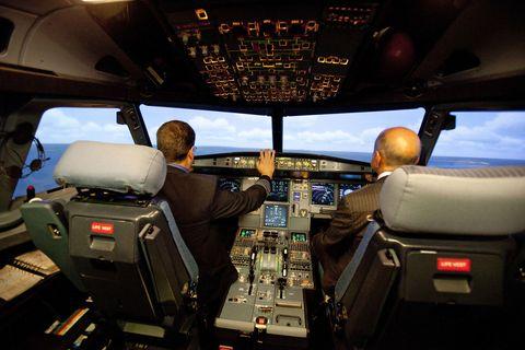 Cockpit, Aviation, Glass, Air travel, Pilot, Flight instruments, Aerospace engineering, Aircraft, Windshield, Service,