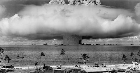 Atmosphere, Monochrome, Atmospheric phenomenon, Monochrome photography, Pollution, Black-and-white, Smoke, Nuclear power plant, Cooling tower, Power station,