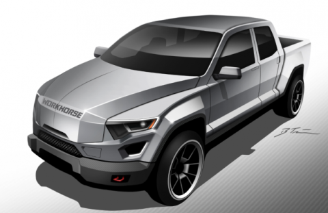 Workhorse W-15 Electric Pickup Aims to Hit the Market by 2018