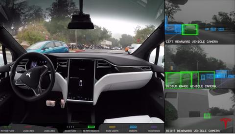 Here's What Tesla's Autopilot Sees When It Drives