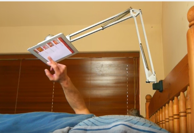 This Hovering Diy Tablet Holder Is Crazy Easy To Make