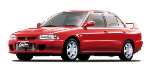 "<p>Finally, the first Mitsubishi Lancer Evolution can come to the U.S. The Evo was the rally-ready version of the otherwise-bland Mitsubishi Lancer sedan, and thanks to competition success and <em data-verified=""redactor"" data-redactor-tag=""em"">Gran Turismo </em>games, it quickly became a legend. Expect a lot of these to come to the country, and expect them to get expensive. </p>"