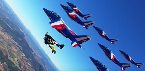 Jetman Dubai France