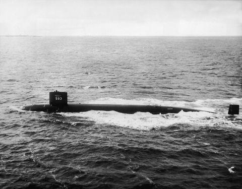 In 2005, a U S  Navy Sub Ran Into a Mountain