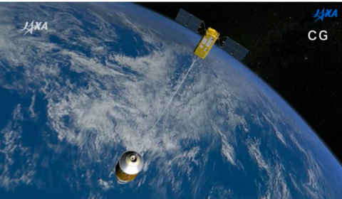 Japan electric space tether
