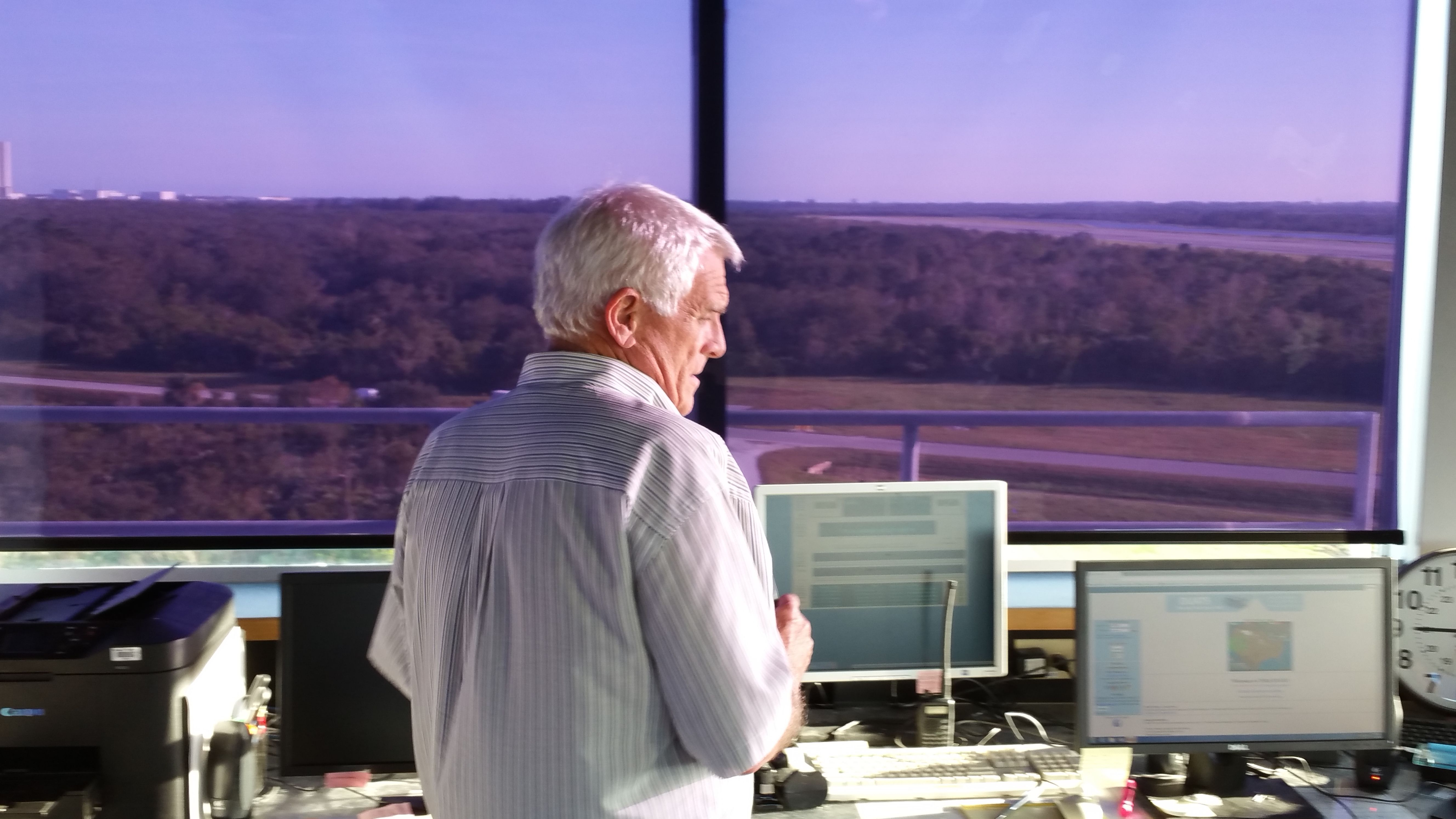 <p><span>For more than three decades, Kenneth Hooks has seen Cape Canaveral from his perch inside the nation's most unusual air traffic control tower. The tower controls access to the Shuttle Landing Facility, a 15,000-foot long runway that hosted shuttle touchdowns until the program ended in 2011.</span></p> <p>This runway is a symbol of where spaceflight has been. Now it's becoming<span>a key hub of the future. Since 2015 the runway, tower, and other pieces have been operated by Space Florida, the state's spaceport development authority seeking to boost commercial business ventures. And this place is a key part of the return ofhuman spaceflight, too.</span></p>