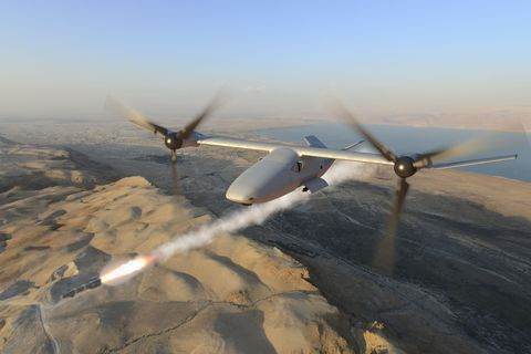 The Marines Want a Drone Gunship to Escort the V-22 Osprey