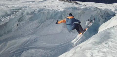 sam favret glacier skiing