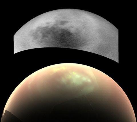 Cassini Snaps New Photos of Titan's Clouds