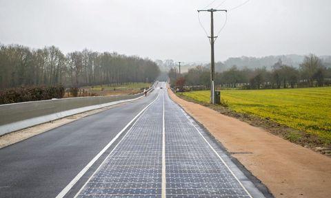 Solar Road in France