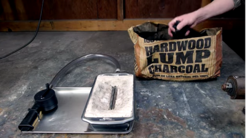 How to DIY Your Own Tabletop Blacksmithing Forge