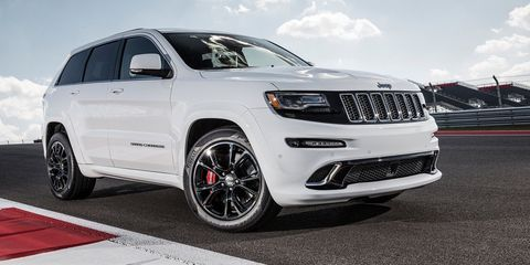 """<p>When it first debuted, <a href=""""http://www.roadandtrack.com/new-cars/car-comparison-tests/reviews/a20370/chariots-with-fire-2006-jeep-grand-cherokee-srt8/"""" target=""""_blank"""" data-tracking-id=""""recirc-text-link"""">the Jeep Grand Cherokee SRT-8</a> packed 420 horsepower and could hit 60 mph in 4.6 seconds. That was incredible for the time, but now the Hellcat exists. So Jeep decided to give the Grand Cherokee the Hellcat's engine <a href=""""http://www.roadandtrack.com/new-cars/future-cars/news/a28741/hellcat-powered-jeep-grand-cherokee-trackhawk-is-coming-in-july-of-2017/"""" target=""""_blank"""" data-tracking-id=""""recirc-text-link"""">and call it the Trackhawk</a>. That sounds like an excellent idea to us.&nbsp;</p>"""