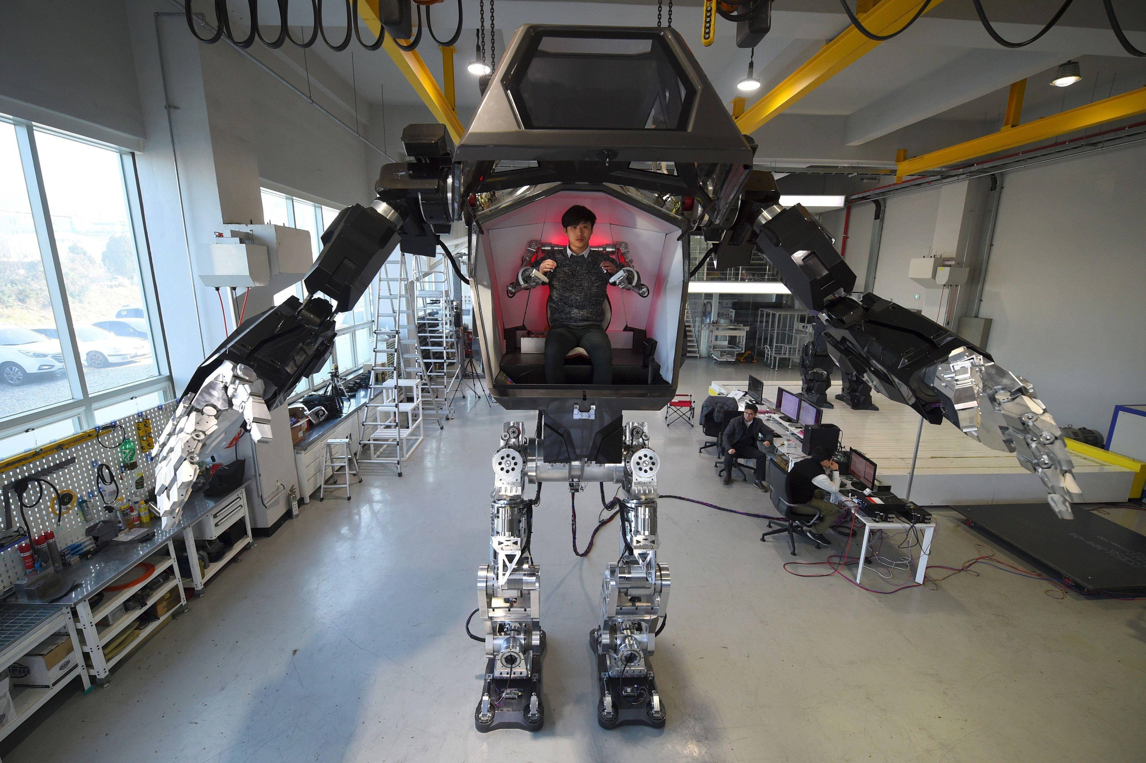 Sci-Fi Korean Robot Is Actually Very Real