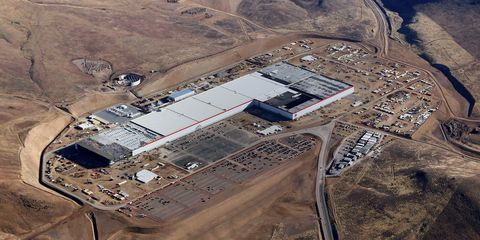 """<p>While Tesla already boasts a 5.5 million square foot production facility in Fremont, California, for vehicle production, a brand-new Gigafactory outside of Sparks, Nevada, began battery cell production on January 4, 2017. By 2018, the factory will reach a size of 13 million square feet. In cooperation with Panasonic, the Gigafactory plans to achieve net zero energy as it continues to automize the battery-making process.<span class=""""redactor-invisible-space""""></span></p>"""