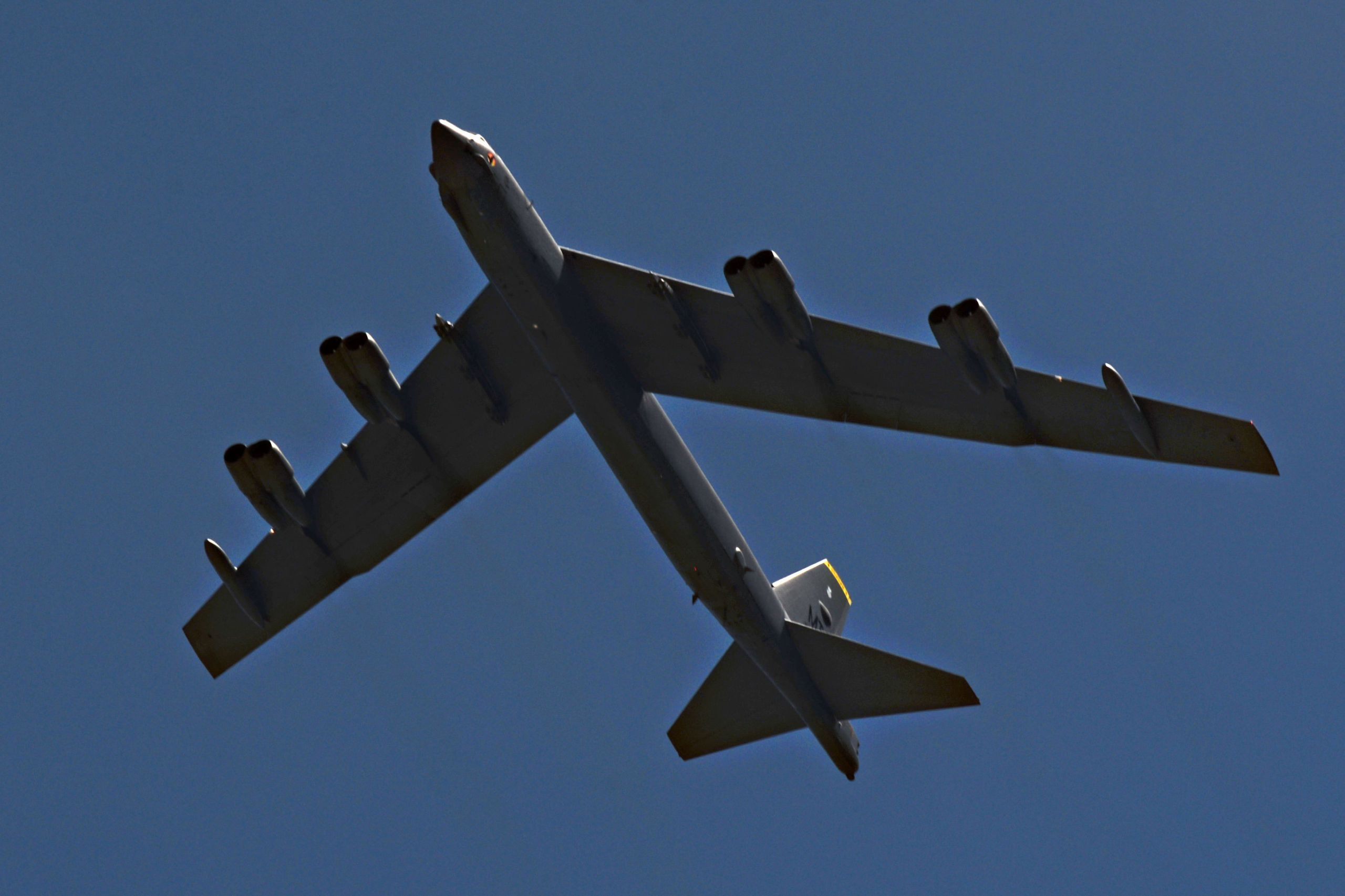 An Entire Engine Fell Off a B-52 Bomber While In Flight
