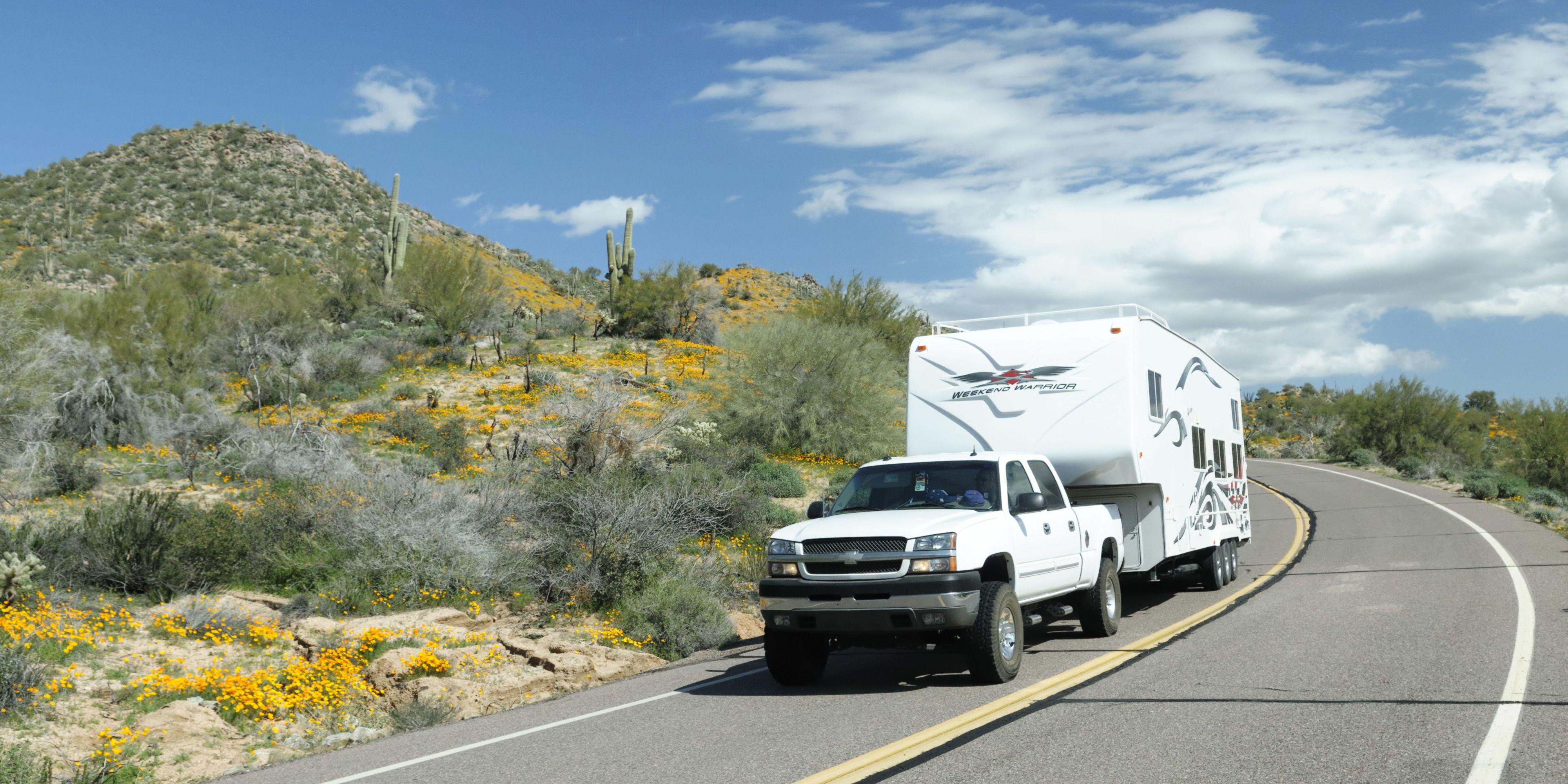 towing a trailer hook up a trailer rh popularmechanics com Semi- Trailer Mechanic Black and White Trailer Mechanic Images