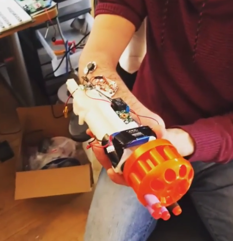 bionic nerf gun