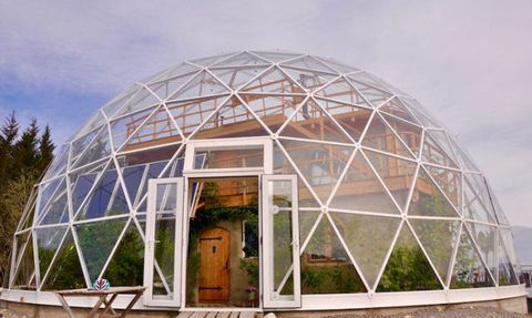 Want To Live In The Arctic Circle? Build Your House Inside A Solar Geodesic Dome