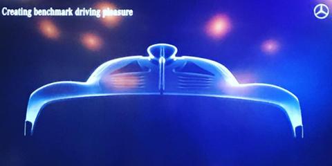 Mercedes-AMG's Hypercar Will Sport Some Crazy Aerodynamics